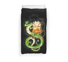 Guko and Dragon Ball  Duvet Cover