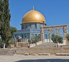 Dome of the Rock by Yair Karelic