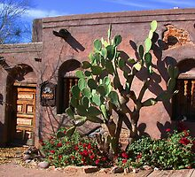 Old Tucson  by Jerome Berner