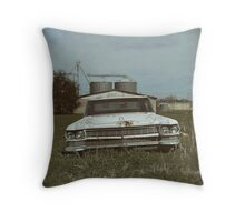 Cadillac Dreams Throw Pillow