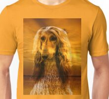Afghan hound and Sunset Unisex T-Shirt