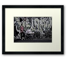 No Entry. Framed Print