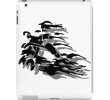 Abstract Dirt Bike iPad Case/Skin
