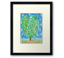Heart Tree Framed Print