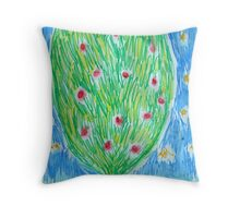 Heart Tree Throw Pillow