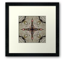 The Traditional Winds - The Compass Rose  Framed Print