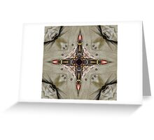 The Traditional Winds - The Compass Rose  Greeting Card