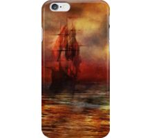 The Ship with Scarlet Sails iPhone Case/Skin