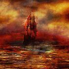 The Ship with Scarlet Sails by Stefano Popovski