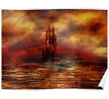The Ship with Scarlet Sails Poster