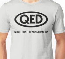 Quod Erat Demonstrandum Unisex T-Shirt