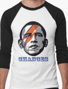 OBAMA CHANGE T-SHIRT  Men's Baseball ¾ T-Shirt