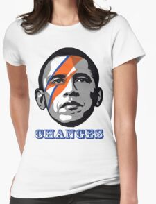 OBAMA CHANGE T-SHIRT  Womens Fitted T-Shirt