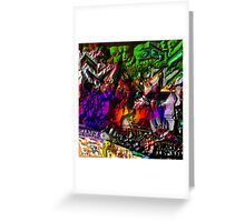 the greight EYE AM Greeting Card