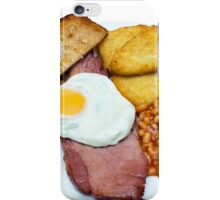 Gammon Egg and Beans iPhone Case/Skin