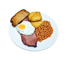 Gammon Egg and Beans by MarkUK97