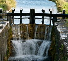 Emper Canal Locks, Ireland  by Aishling O'Neill