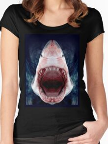 We're gonna need a bigger boat! Women's Fitted Scoop T-Shirt