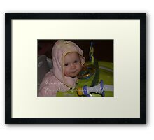 Thank You Framed Print
