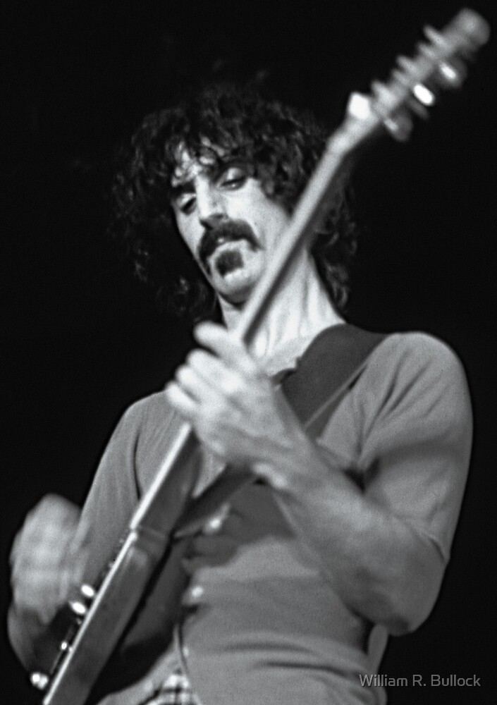 Frank Zappa - Sydney Hordern Pavillion - 1973 by William R. Bullock