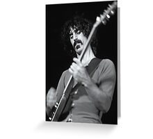 Frank Zappa - Sydney Hordern Pavillion - 1973 Greeting Card