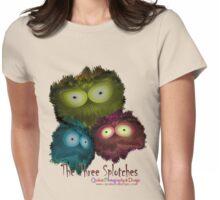 Three Three Splotches Womens Fitted T-Shirt