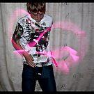Glowstick Exposure Shot I  by Melissa Contreras