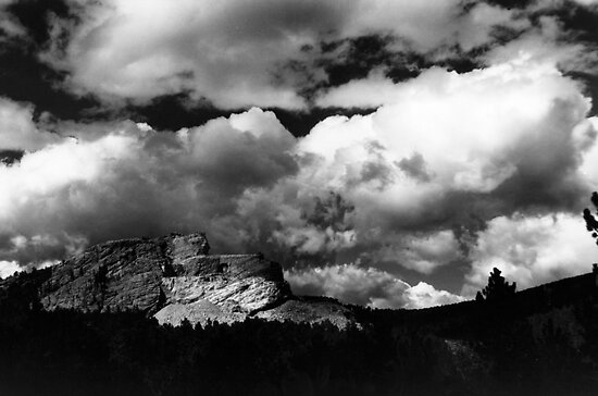 Crazy Horse Memorial by Jonathan Eggers