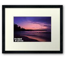 Vibrant Dawn Framed Print