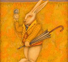 Illustration The White Rabbit by mciglesias
