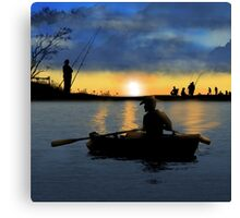 At The Weekend Canvas Print