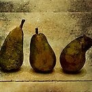 Dancing Pears by Reena D