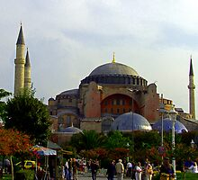 Hagia Sophia by Tom Gomez