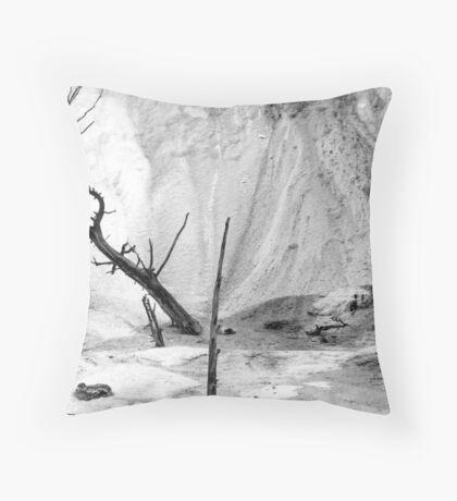 Tree in Sulfur Throw Pillow