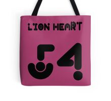 lion heart 54 Tote Bag