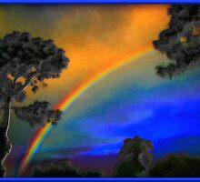 Sunrise Rainbow by George  Link