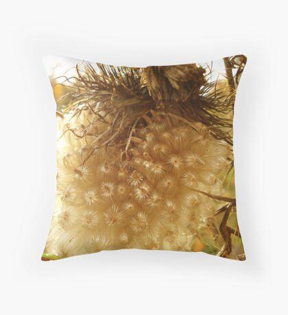 Thistle Seed Throw Pillow
