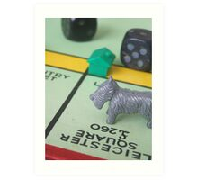 Monopoly love Art Print