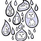 Raining cats and dogs by Anne van Alkemade