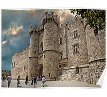 Palace Of The Grand Master of the Knights of Rhodes Poster
