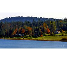 Autumn on Lake Campbell Photographic Print