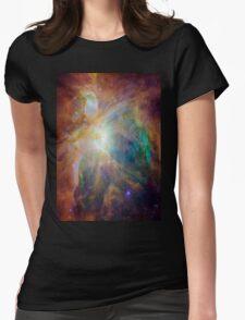 Galaxy Rainbow v2.0 Womens Fitted T-Shirt