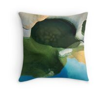 Stone Water and Sky Throw Pillow