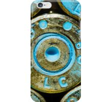 Blue Brass #1 iPhone Case/Skin