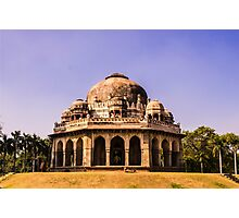 Mohammed Shah Sayyid's Tomb Photographic Print
