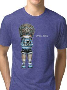 Smile Baby Tee Tri-blend T-Shirt