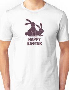 Happy Easter Bunnies Unisex T-Shirt
