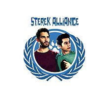 The Ultimate Sterek Alliance Blue T-Shirt by thescudders