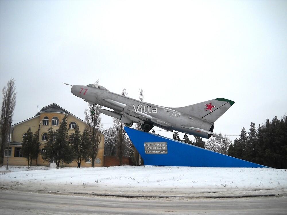 Monument Airplane. Taganrog.Russia. by Vitta