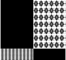 Iskybibblle Products/Floral Black Photographic Print